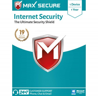 Max Secure Software Internet Security Version 6 - 1 PCs, 1 Year