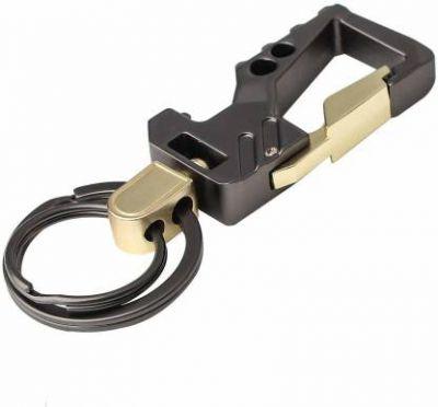 Venardo Stylish Metal Antique Single Key Ring Hook/Latest Fashion Keychain Holder for Bikes,Car and Gift Key Chain