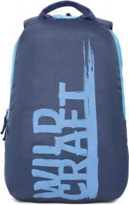 Wildcraft Knight W 17.5 L Laptop Backpack Blue