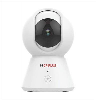 CP Plus 360 1080P 2MP Ezykam WiFi Security Camera (White)