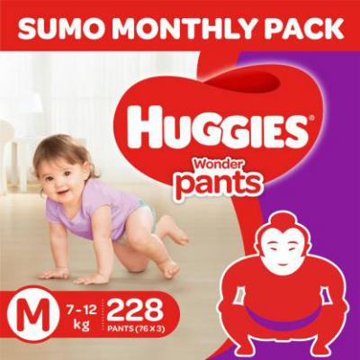 Huggies Diapers Minimum 40% off