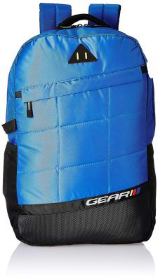 Gear 18 Ltrs Royal Blue Casual Backpack (BKPANGLE00010)