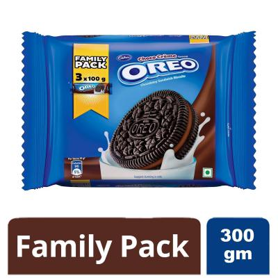 Cadbury Oreo Choco Crème Biscuit Family Pack, 300g