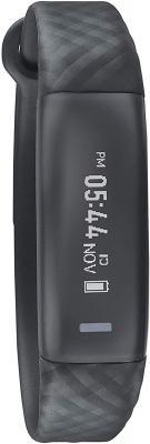 Sonata SF Rush Black Dial Unisex's Activity tracker - SWD77087PP01