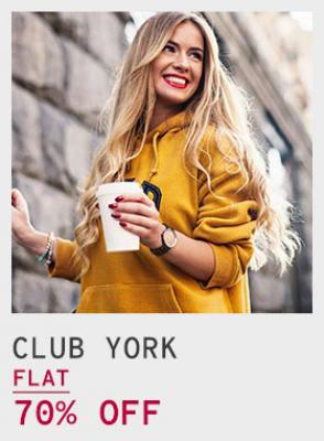 Club York Sweaters for Women flat 70% Off