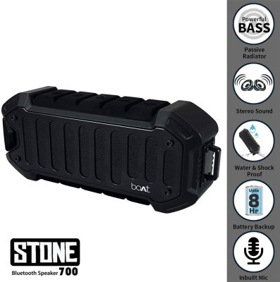 boAt Stone 700 Water Proof and Shock Proof Wireless Portable Speaker