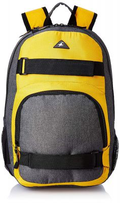 Fastrack 28.32 Ltrs Yellow Casual Backpack (A0654NYL01)