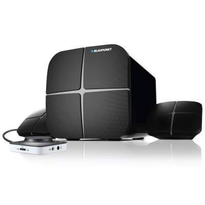 Blaupunkt SP212 Bluetooth Home Audio Multimedia 2.1 Speaker