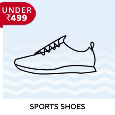Men's Sports Shoes BUdget Buys Under Rs.499