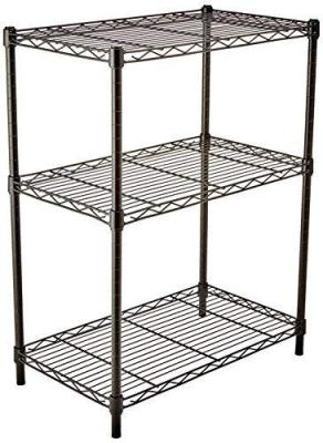 AmazonBasics height adjustable 3-Shelves heavy duty rack