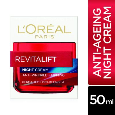LOreal Paris Revitalift Moisturizing Night Cream, 50ml