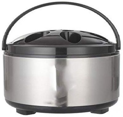 King International Stainless Steel Insulated Casserole, 2.5 Liter, Silver