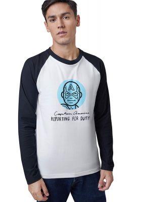 Marvel X Zilingo Men Marvel'S Avengers Reporting for Duty Shirt