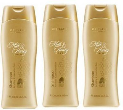 Oriflame Milk And Honey Shampoo (Pack Of 3)  (600 ml)