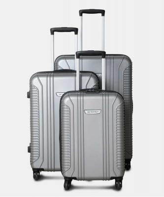Metronaut S02-3 COMBO SET (28+24+20) Cabin & Check-in Luggage - 28 inch  (Silver)