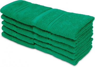 Swiss Republic Cotton 460 GSM Face Towel (Pack of 10)