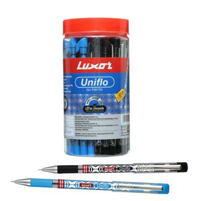 Luxor Uniflo Ball Pen Assorted (40 PCS)