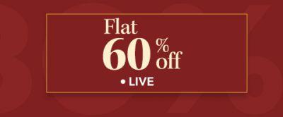 Myntra Flat 60% Off
