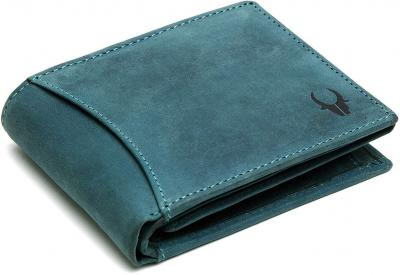 WildHorn® RFID Protected 100% Genuine High Quality Mens Leather Wallet
