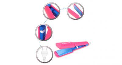 Lifelong HS03 Travel Friendly Hair Straightener (Pink)