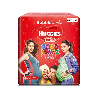 Huggies Wonder Pants Diapers Monthly Pack (Good Newwz Special Edition Pack)