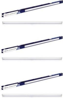 Wipro 20W SQUARE LED BATTEN Straight Linear LED Tube Light (White, Pack of 3)