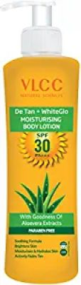 VLCC De Tan Plus White Glow Moisturising Body Lotion SPF 30 PA+++, 350ml