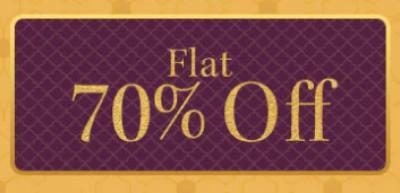 Myntra Flat 70% Off...