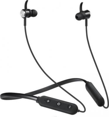 boAt Rockerz 275v2 Bluetooth Headset with Mic (Black, In the Ear)