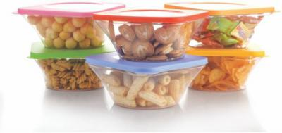SmartBuy Elegance 6 Pcs  - 700 ml Polypropylene Grocery Container, Fridge Container