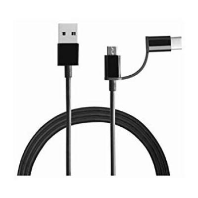 Mi 2-in-1 USB Cable (Micro USB to Type-C)