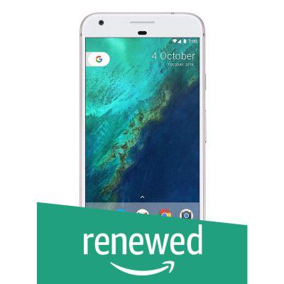 (Renewed) Google Pixel XL (Very Silver, 128GB)