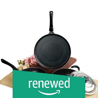 (Renewed) Cello Prima Solitare Series Non Stick 3Pc Cookware Set