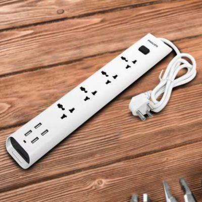 Philips S 4 Socket Surge Protector