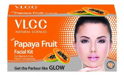 VLCC Papaya Fruit Facial Kit, 60g