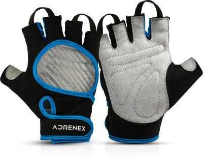 Adrenex by Flipkart Foam Padded, Open Cut Gym & Fitness Gloves with Wrist Support