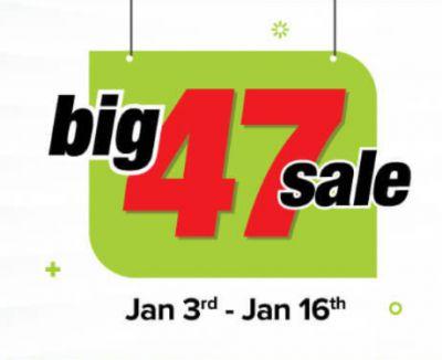 Bigbasket Big 47 Sale