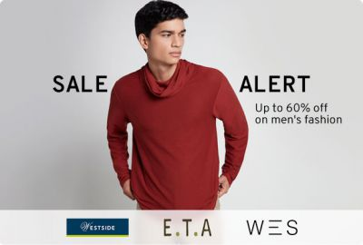 Up to 60% Off on Mens Fashion