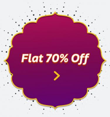 Flat 70% off on Electronic Appliances