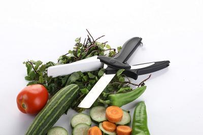 Floraware Plastic 2-in-1 Knife, Black