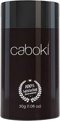 Hair Fibers for Thinning Hair - 100% Undetectable Natural Formula | Completely Conceals Hair Loss in 15 Seconds (caboki