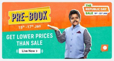Flipkart   Pre-Book Sale   Get Lower Prices Than The Republic Sale
