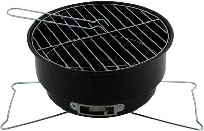 Miamour Barbeque Grill (Multicolour, Chrome)