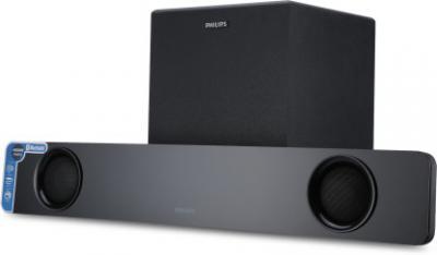 Philips HTL1041 40 W Bluetooth Soundbar with Subwoofer (2.1 Channel)