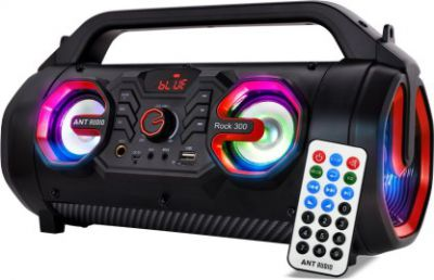 Ant Audio ROCK 300 30 W Bluetooth Party Speaker  (Black, Stereo Channel)