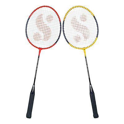 Silvers SB-100 Combo-4 (2 B/Rackets) Red-Yellow