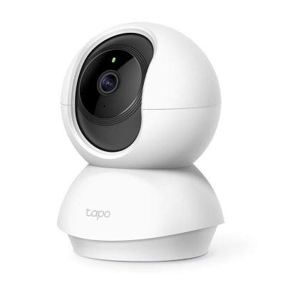 TP-link Tapo C200 Pan/Tilt Home Security Wi-Fi Dome Camera 360° 1080P 2MP, Compatible with Google Assistant and Amazon Alexa