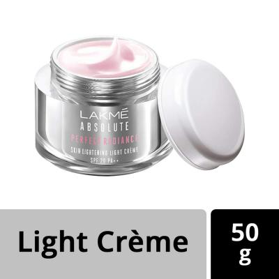 Lakme Absolute Perfect Radiance Skin Lightening Light Creme, 50g