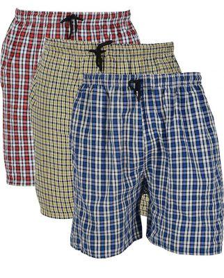 BIS Creations Men's Cotton Boxer (Shorts Pack Of 3_Multicolor_Large):