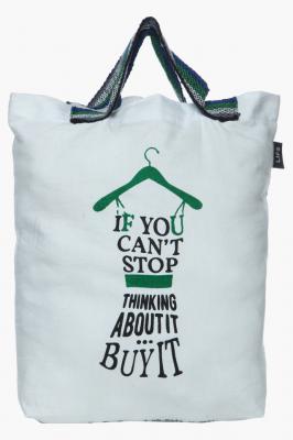 LIFE Womens Printed Shopping Bag